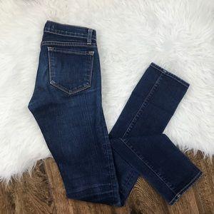 J Brand • Medium Wash Low Rise Skinny Jeans